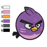 New Angry Birds Embroidery Design