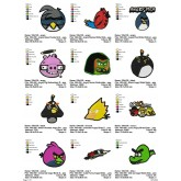Package Angry Birds Embroidery 29