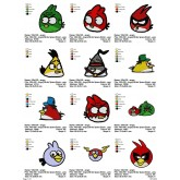 Package Angry Birds Space Embroidery 31