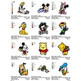 Package Cartoon Disney Embroidery Designs 226