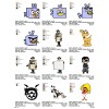 Package Cartoon Disney Embroidery Designs 229