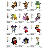 Package Cartoon Disney Embroidery Designs 236