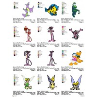 Package Cartoon Disney Embroidery Designs 237