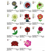 Package Flowers Embroidery Designs 104