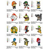 Package Super Mario Embroidery Designs 178