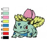 Pokemon 01 embroidery design