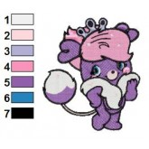 Popples 01 embroidery design
