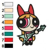 Powerpuff Girls 10 embroidery design