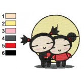 Pucca 02 embroidery design