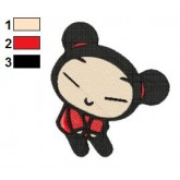 Pucca 03 embroidery design