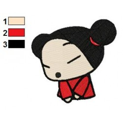Pucca 06 embroidery design