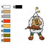 Rainbow Brite 01 embroidery design