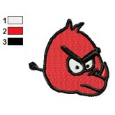 Rhino as Angry Birds Embroidery Design