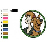 Scooby Doo 05 embroidery design