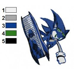 Sonic Riders Embroidery Design
