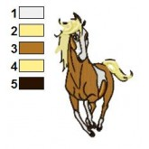 Spirit Stallion of the Cimarron 10 embroidey design