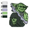 Star Wars Yoda Master 04 Embroidery Design