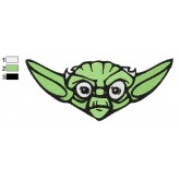 Star Wars Yoda Master 07 Embroidery Design