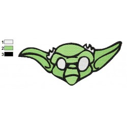 Star Wars Yoda Master 08 Embroidery Design