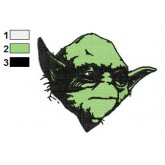 Star Wars Yoda Master 13 Embroidery Design