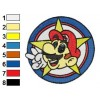 Super Mario Embroidery Design 02