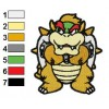 Super Paper Mario Embroidery Design 02