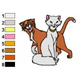 The Aristocats 28 embroidery design