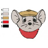 The Rescuers 04 embroidery design