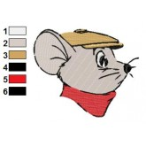 The Rescuers 05 embroidery design