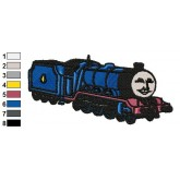 Thomas and Friends 03 embroidery design