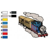 Thomas and Friends 09 embroidery design