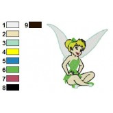 Tinkerbell 01 embroidery design
