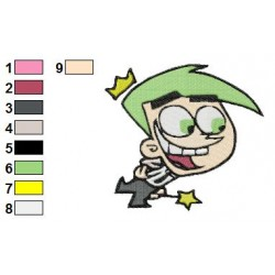 fairly odd parents 06 embroidery design