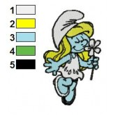 smurfs 05 embroidery design